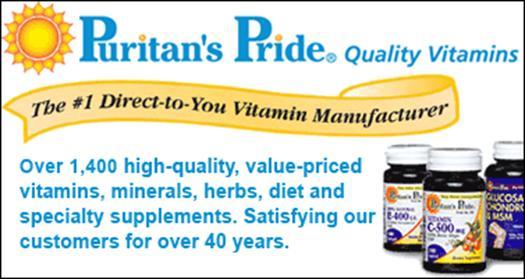 Puritan?s Pride มี GMP(Good Manufacturing Practice) ที่ผ่านระบบควบคุมคุณภาพอาหาร (Quality System) โดยได้รับอนุญาติจากองค์การอาหาร และยา FDA จากอเมริกา