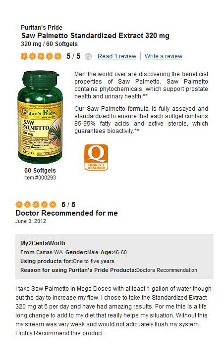 320 mg คือขนาดที่ดีที่สุดของ Saw Palmetto ในขณะนี้!! พิสูจน์ได้จากคำแนะนำของแพทย์ผู้เชี่ยวชาญด้วยคุณภาพระดับ 5 ดาว (*****)