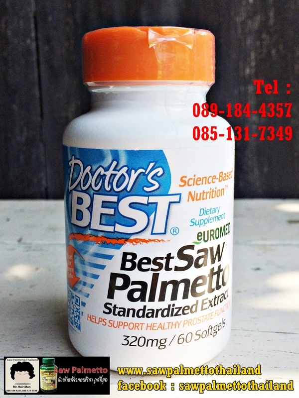 Doctor's Best - Saw Palmetto 320 mg